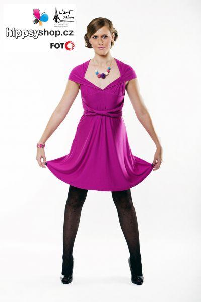 10WAY DRESS - růžová